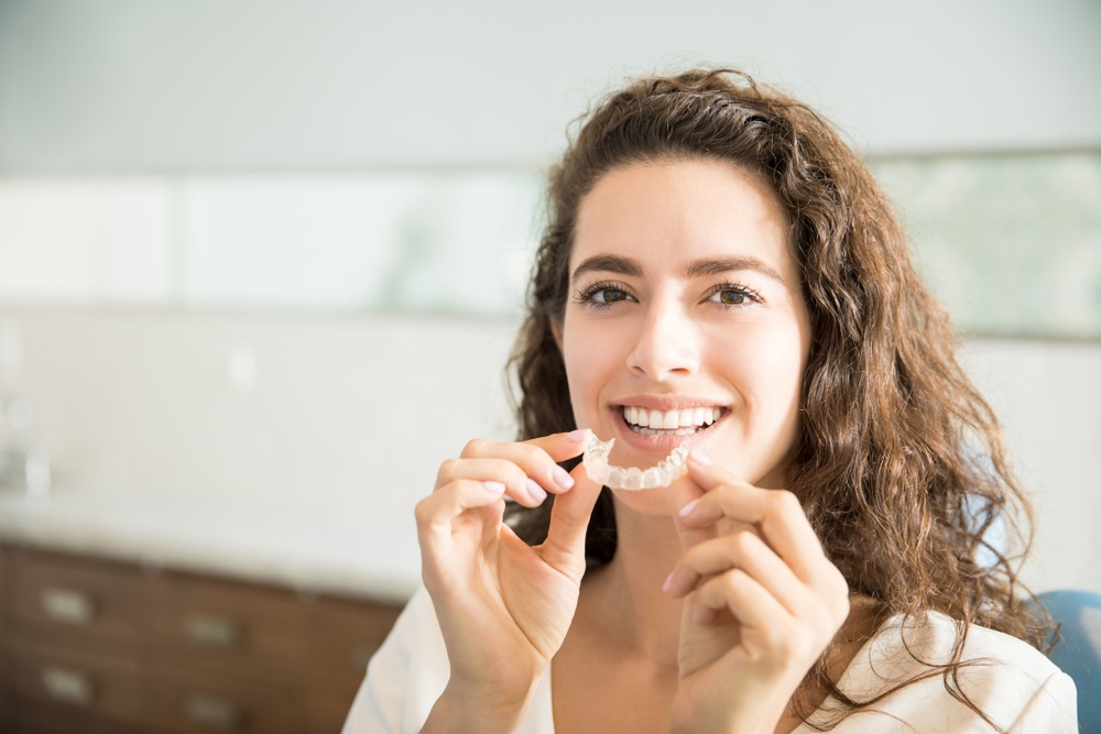 Perfect Your Smile With Invisible Braces!